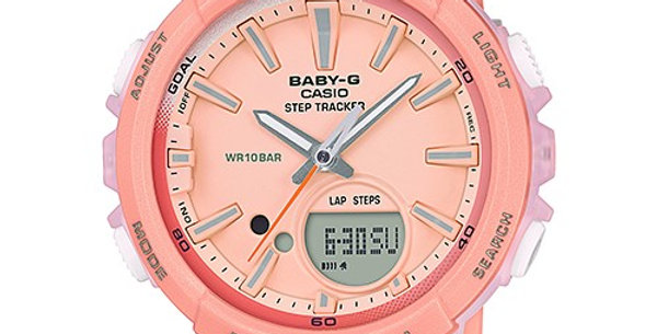 Baby-G BGS-100-4A Step Tracker