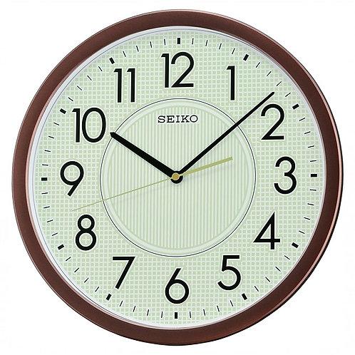 Seiko Wall Clock QXA629B Umber Luminous Front