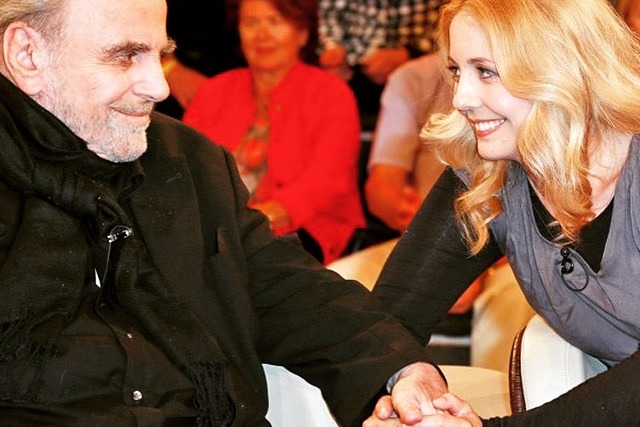With Maximilian Schell