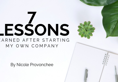 Seven Lessons Learned from Starting My Own Company