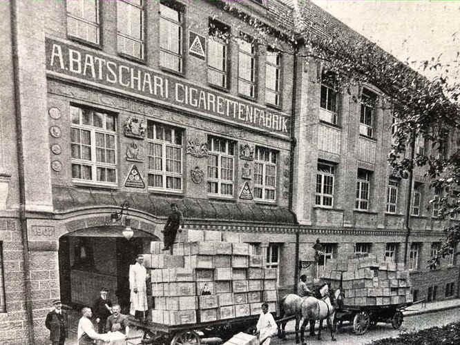 Batschari Zigarettenfabrik