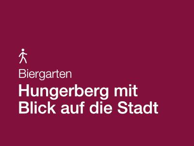 Biergarten auf dem Hungerberg