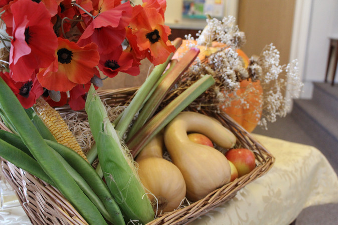 Harvest Festival and Christians Against Poverty (CAP)