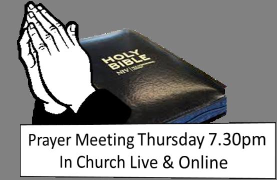 Live Prayer Meetings Started Again