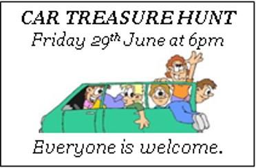Annual Car Treasure Hunt