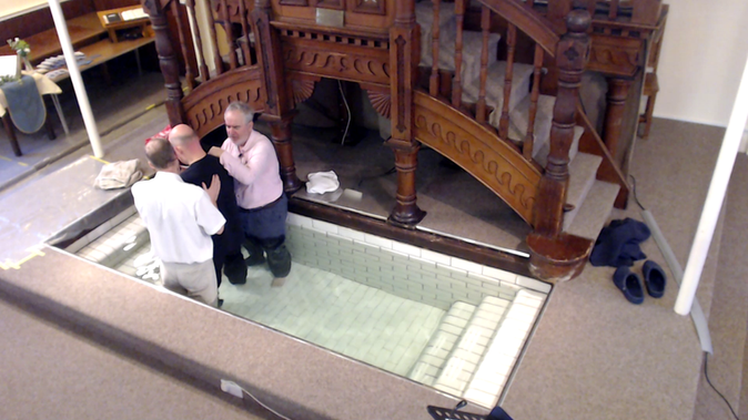 Baptism in January