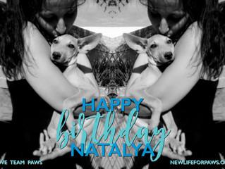 Happy Birthday Natalya!