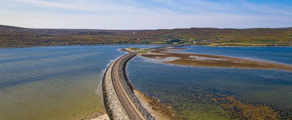 Kyle of Tongue Causeway, Scotland