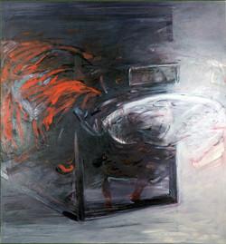 SMRŠŤ olej na plátně 135X145cm1995