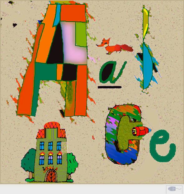 Kresba myší IV 2003