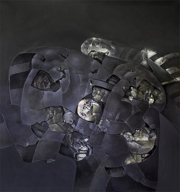 FOSILIE II akryl 130x140 1987