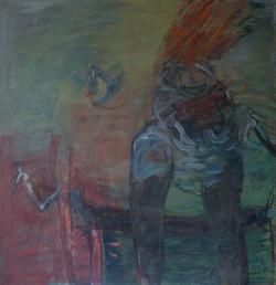 E55 olej na plátně 110x120 1995