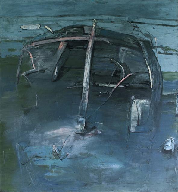 ATLANTIS olej na plátně 120x110 1995