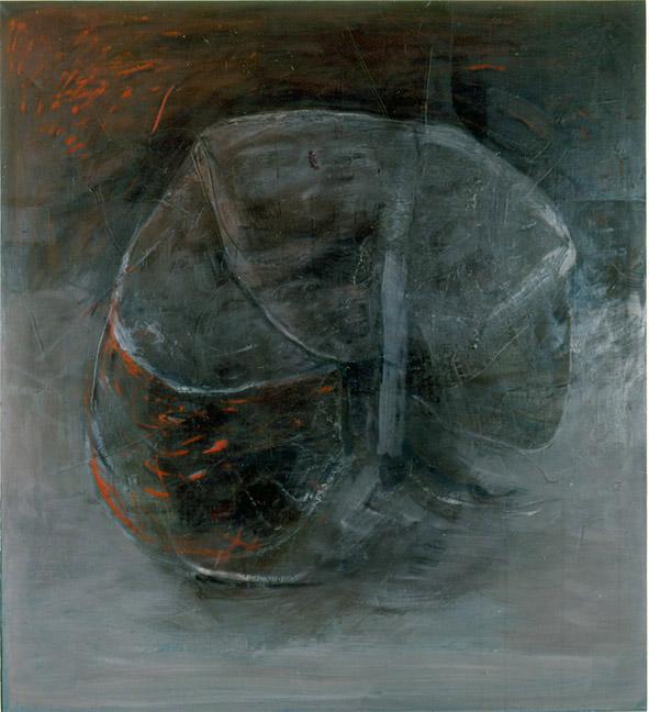 TAJEMSTVÍ olej na plátně110x120 1995