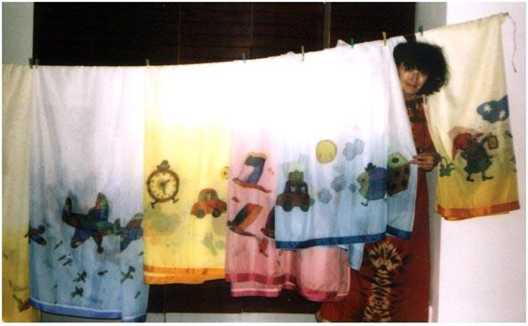 Záclony do dětských pokojů II