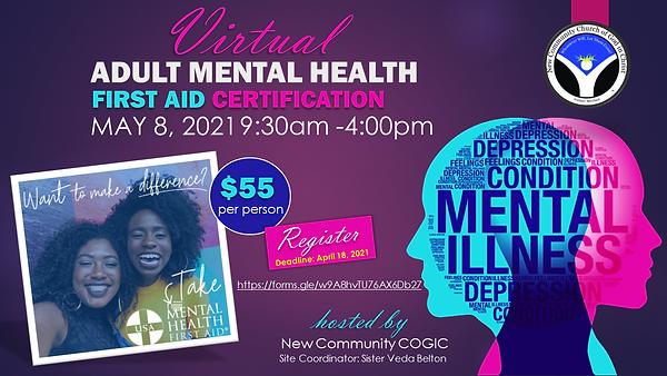 ADULT MENTAL HEALTH - New Community COGI