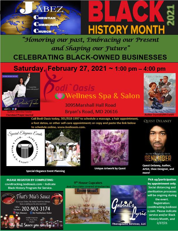 Jabez Black History Month Celebration 20