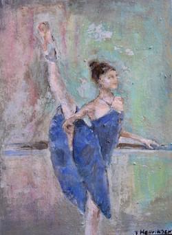 """Tiny Dancer"" 9x12""(sold)"
