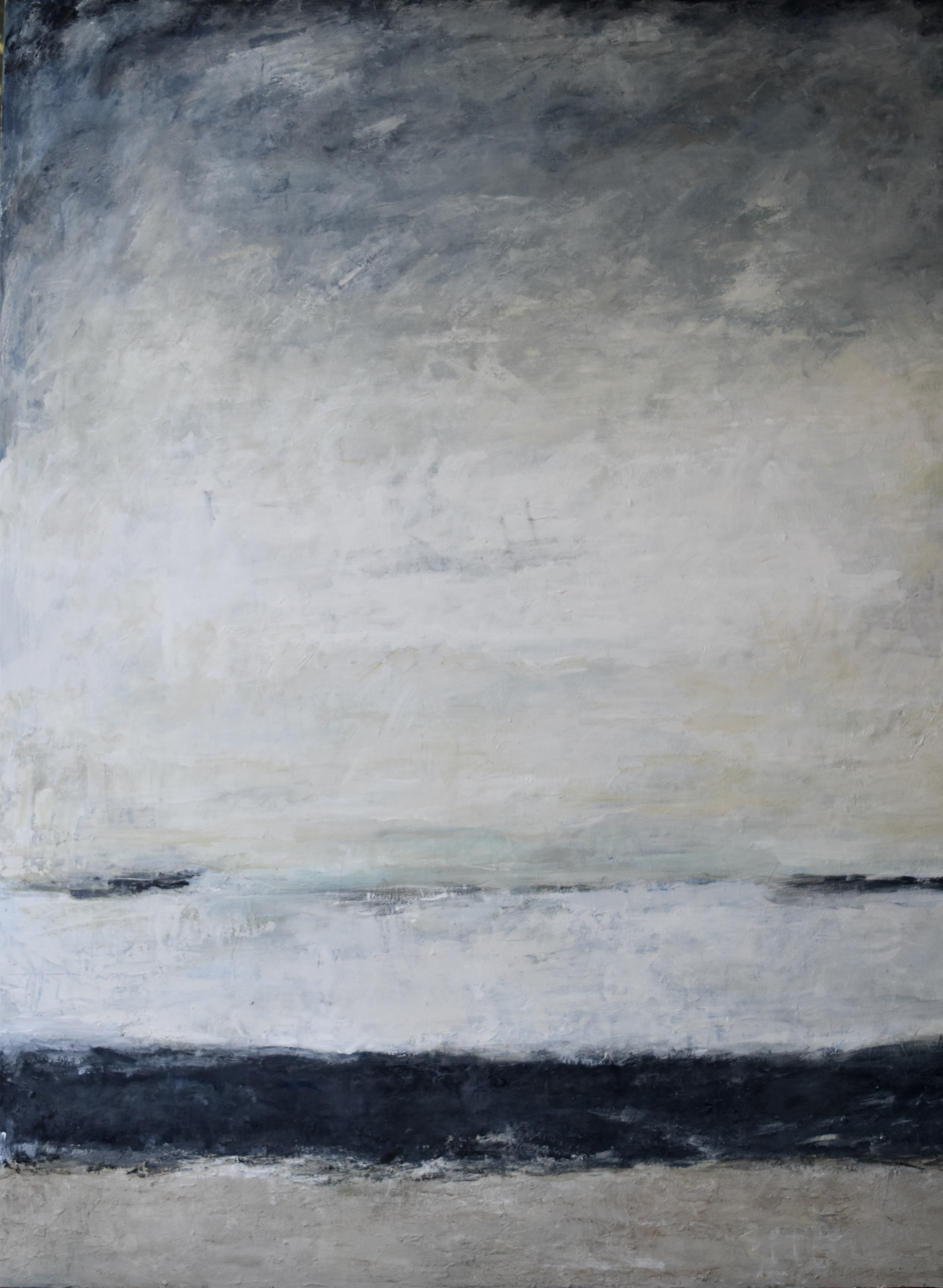 """Sea change on the horizon""46x60"""