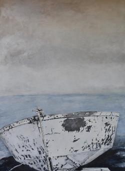 """""""Sea Survivor""""50x60""""(sold)"""