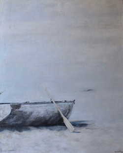 """""""Beached"""" - 44x36""""(sold)"""