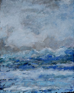 """""""Late Summer waves""""10x12"""""""