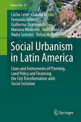 capa Social Urbanism in Latin America 01