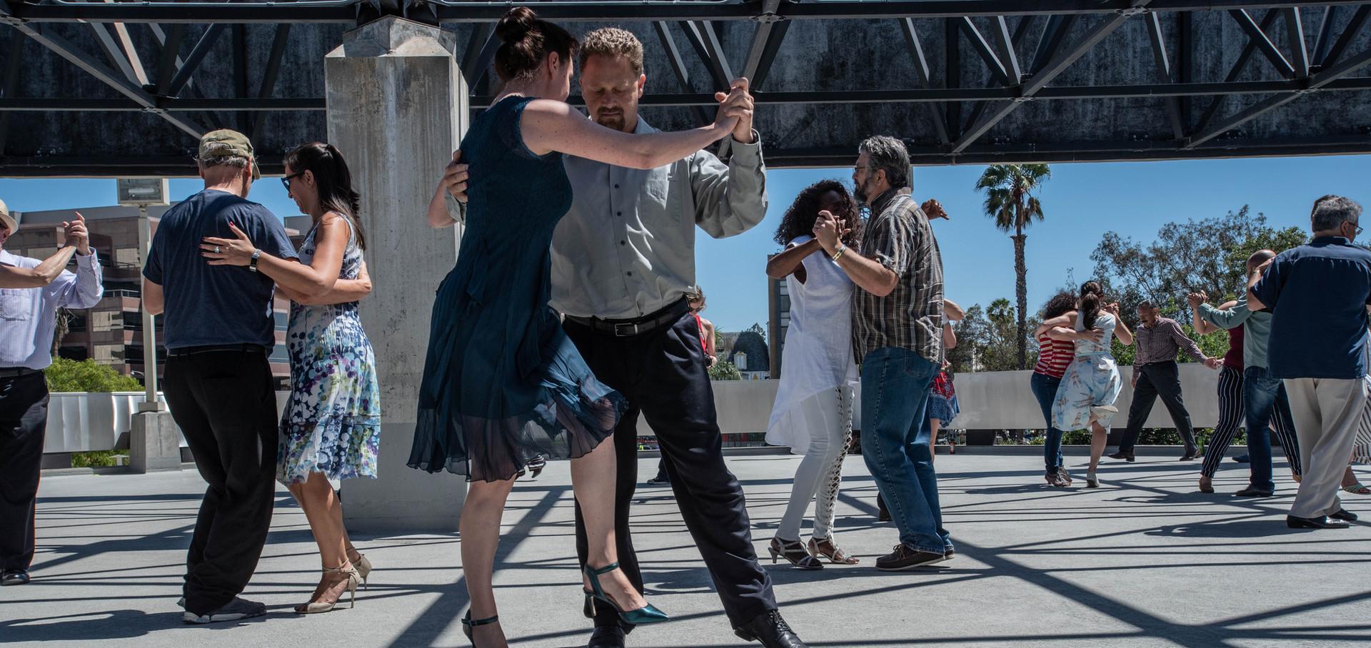 Tango rebels at La Brea Tarpits