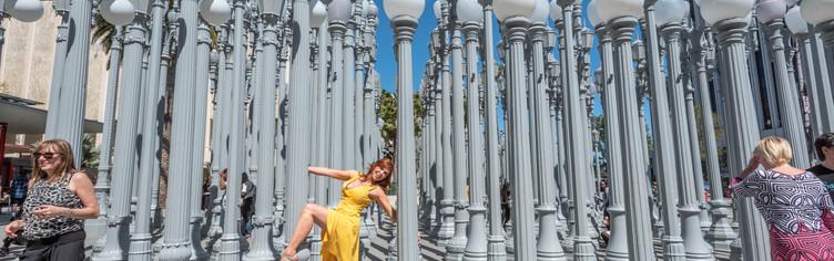 Hollywood attitude at LACMA