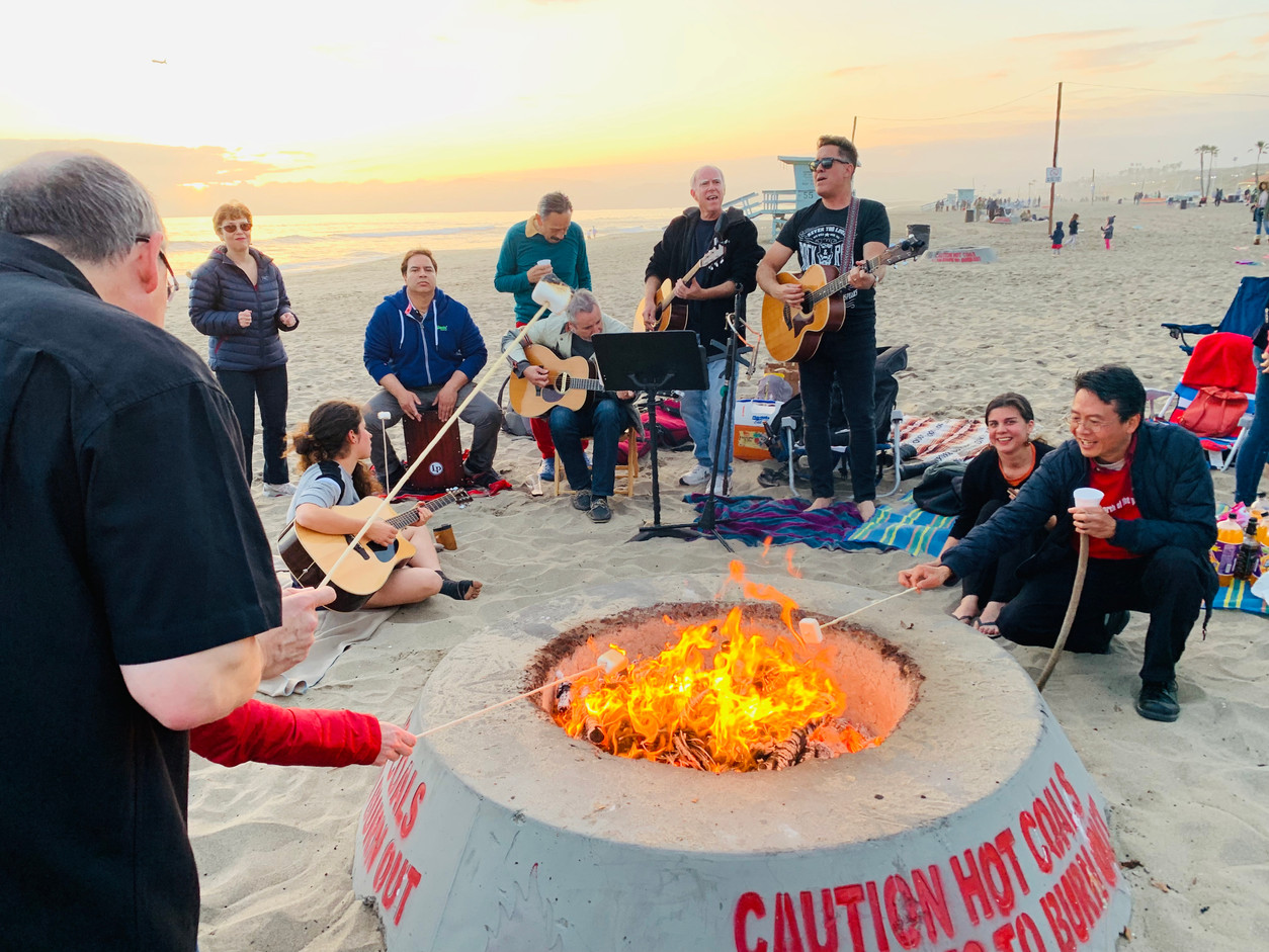 Singalong and s'mores