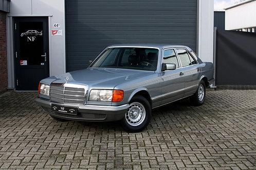 Лобовое стекло Mercedes W126 седан, купе