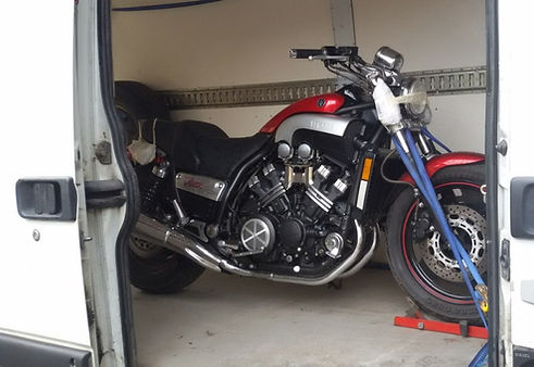 Перевозка мотоцикла в европу