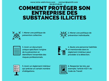 Comment protéger son entreprise des substances illicites