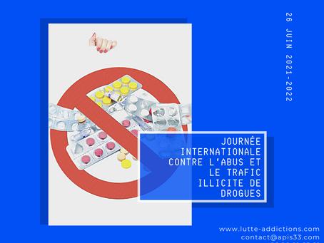 Journée Internationale contre l'abus et le trafic illicite de drogues