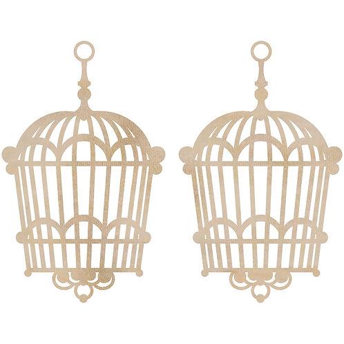 Kaisercraft Wooden Bird Cages