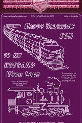 PCA EasyEmboss Trains - TP3554E