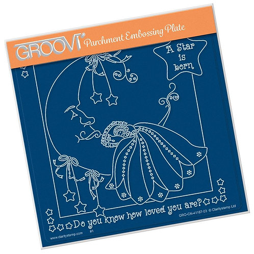 Linda Williams A Star is Born A5 Groovi Plate - GRO-CN-41167-03