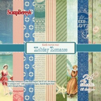 Scrapberry's Holiday Romance 6 x 6 Paper collection