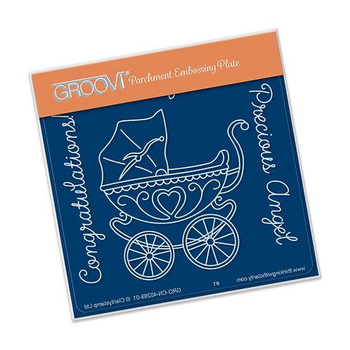 Groovi Pram Baby Plate A6