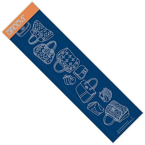 Handbags Groovi Border Plate