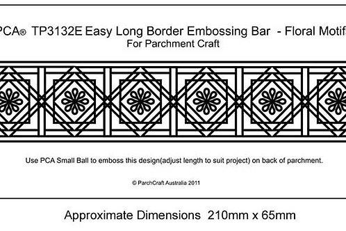 Easy Long Border Bar Floral Motifs