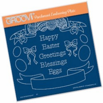 Groovi Easter Banners Plate A5
