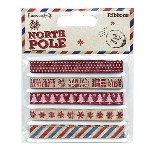Dovecraft North Pole Ribbons
