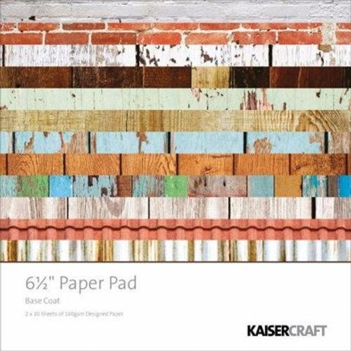 Kaisercraft 6.5 x 6.5 Basecoat Paper Pack