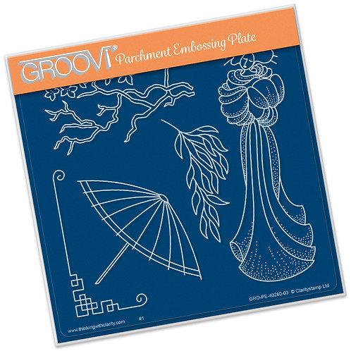 Groovi - Geisha Plate A5