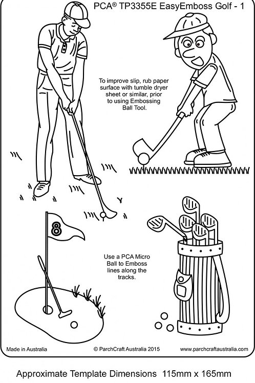 EasyEmboss Golf - 1 ParchCraft Australia