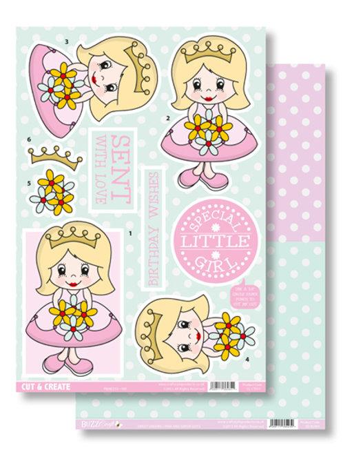 Cut & Create Princess Pat