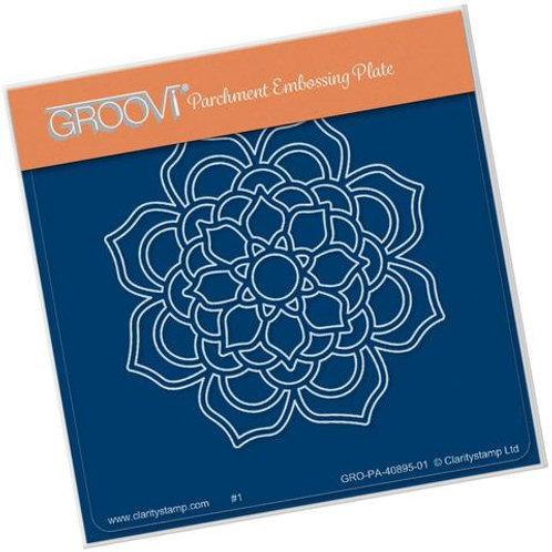 Bloom Mandala Groovi Baby Plate