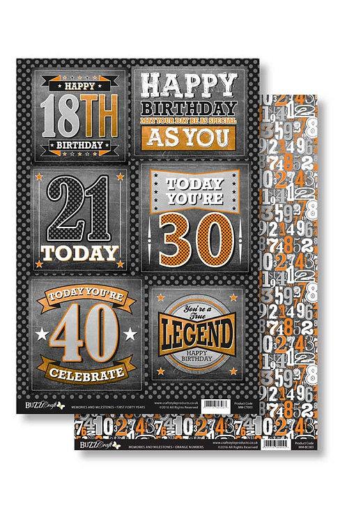 Memories & Milestones - Forty Year Celebration