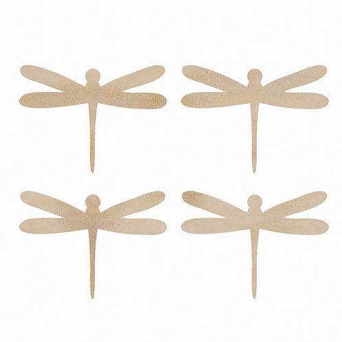 Kaisercraft Wooden Dragonflies